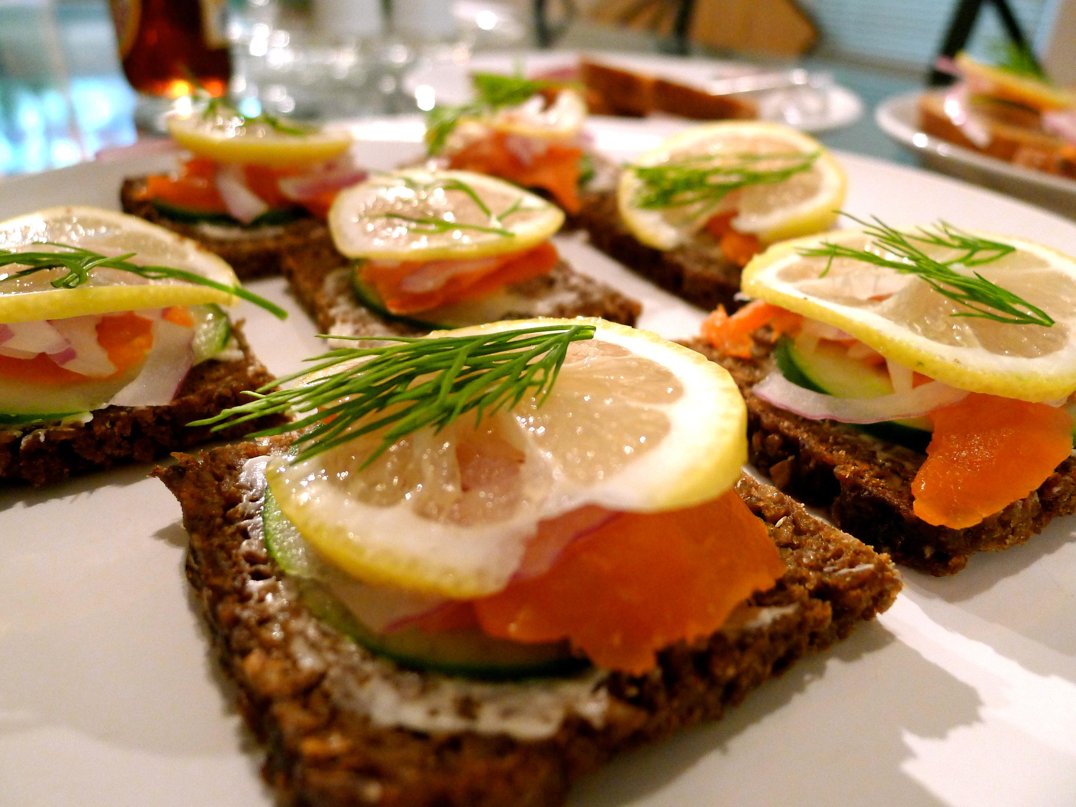 Меню шведский стол рецепты с фото