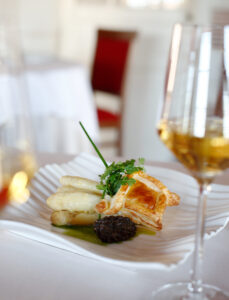 Gastronomie Verre Food and Sauvignon Blanc wine pairing in Loire Valley