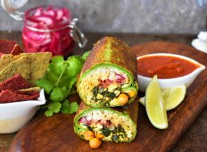 Indian_Saag_Tofu_Burrito_Vegan_Recipe_Wine4Food