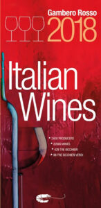 GAMBERO ROSSO Italian Guide BOOK COVER 2018 - Wine4Food