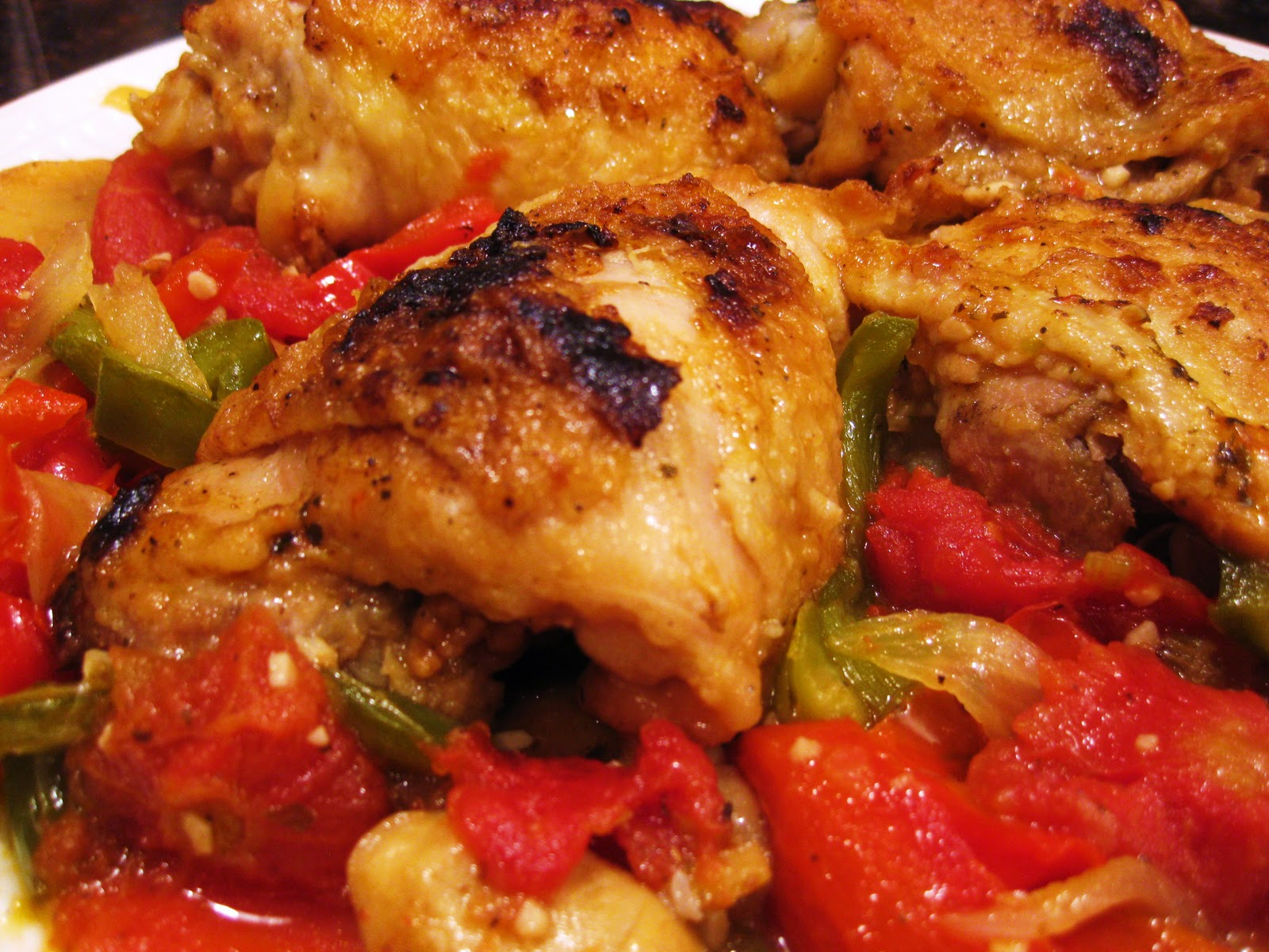 My five favorite italian american dishes wine4food chicken cacciatore theres forumfinder Images