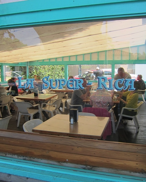 La Super Rica Taqueria, in Santa Barbara, California, Julia Child's favorite restaurant late in life