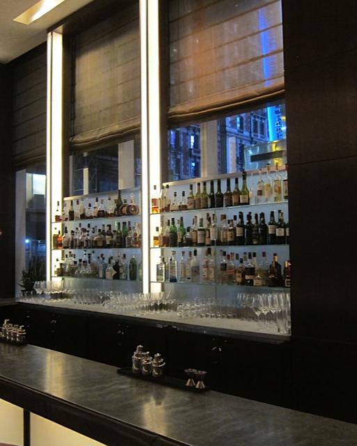 The bar at Aureole