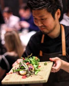 DEN Salad - Chef Zaiyu Hasegawa - credit Aaron Arizpe