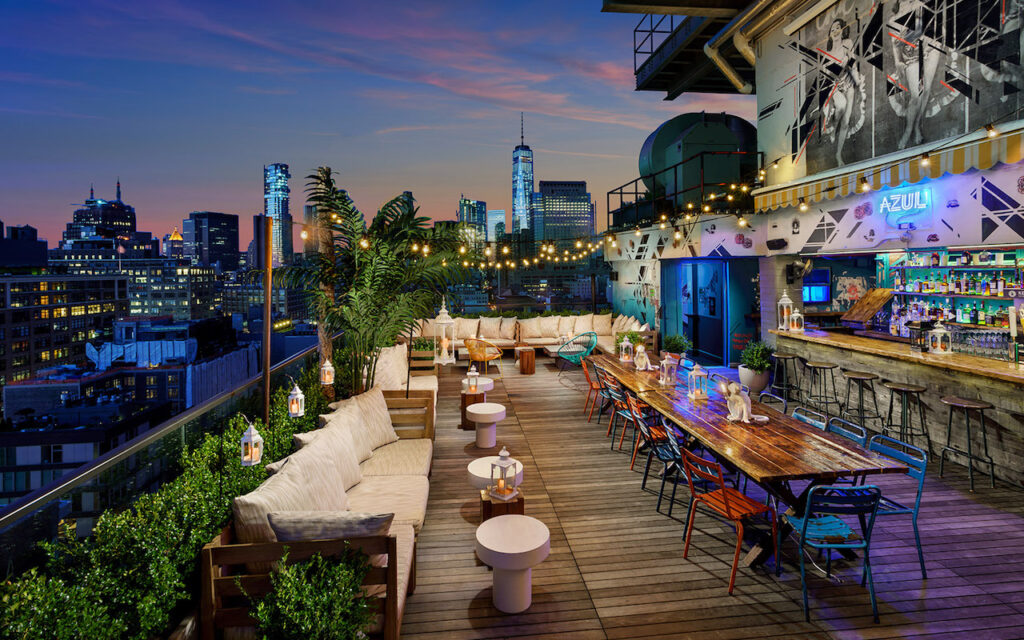 Rooftop Cafe Nyc