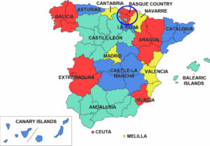 Basque Map Of Spain.Spain S Txakoli Wines Hard To Pronounce Easy To Drink Wine4food