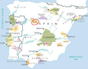 Map_Spain_Rueda_Region_Verdejo_Origins