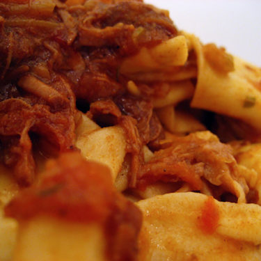 Pork Ragu and Pappardelle