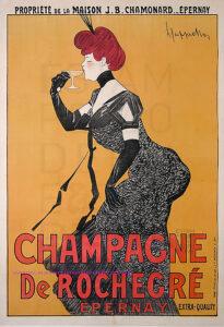 Champagne_Art_Nouveau_Lithograph_Leonetto_Cappiello