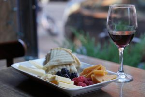 The Immigrant Wine Bar Cheese and Fruit Plate Pairing Red Wine Wine4Food