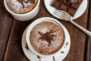 Chocolate Souffle_Powdered_Sugar_Wine4Food