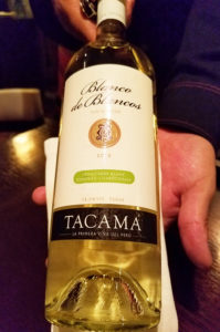 Peru White Wine Tacama - Wine4Food