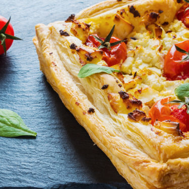 RECIPE Roasted Cherry Tomato and Feta Tart - Wine4Food