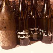 Traveling Somm, Vincent Dancer, Chassagne Montrachet, bottles - Wine4Food