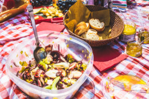 Picnic, Octopus Salad, Olive Oil Marmalades - Wine4Food